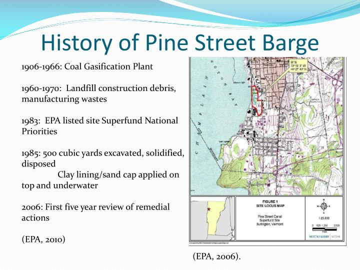 History of pine street barge