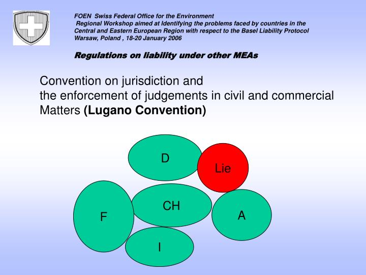 Convention on jurisdiction and