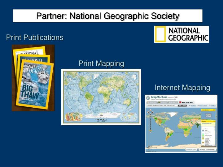 Partner national geographic society