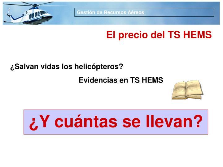 Evidencias en TS HEMS