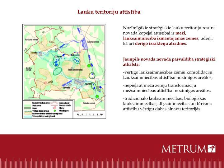 Lauku teritoriju attīstība