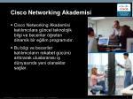 cisco networking akademisi