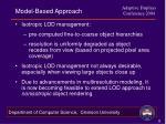model based approach1