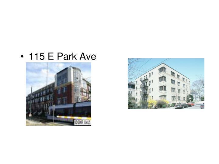 115 E Park Ave