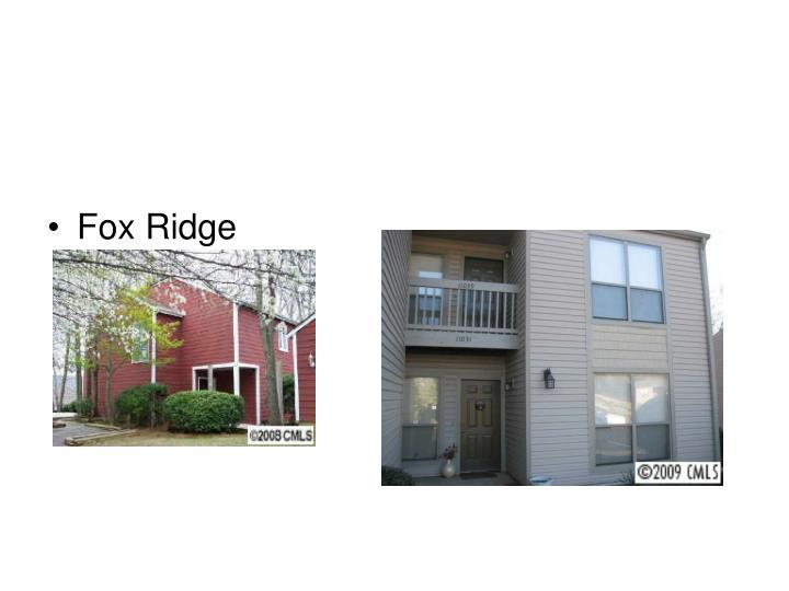 Fox Ridge