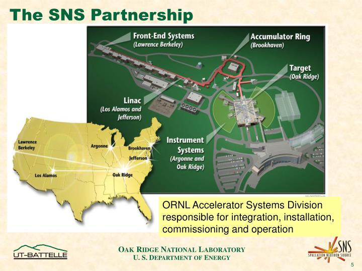 The SNS Partnership