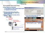 encrypted secured print