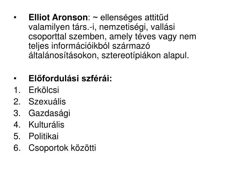 Elliot Aronson