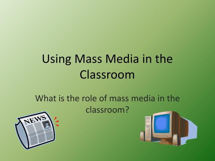 effects of mass media to children