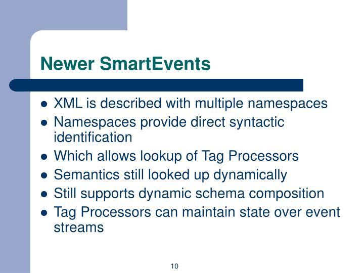 Newer SmartEvents