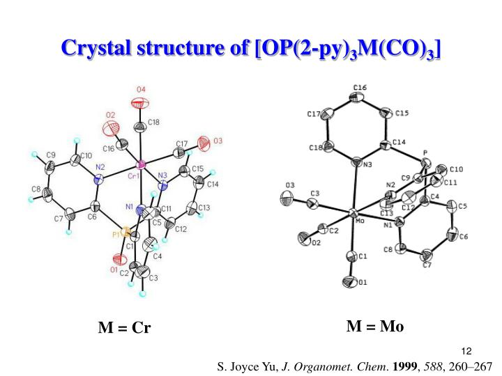 Crystal structure of [OP(2-py)
