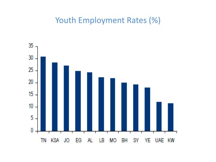 Youth Employment Rates (%)