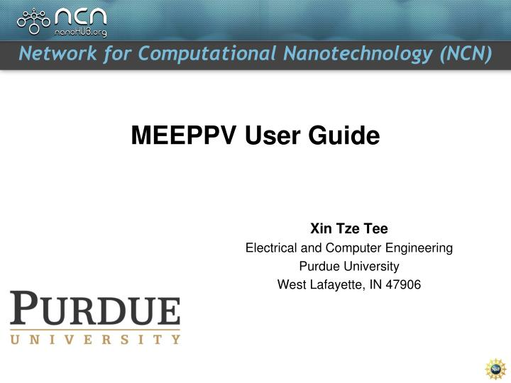 meeppv user guide n.