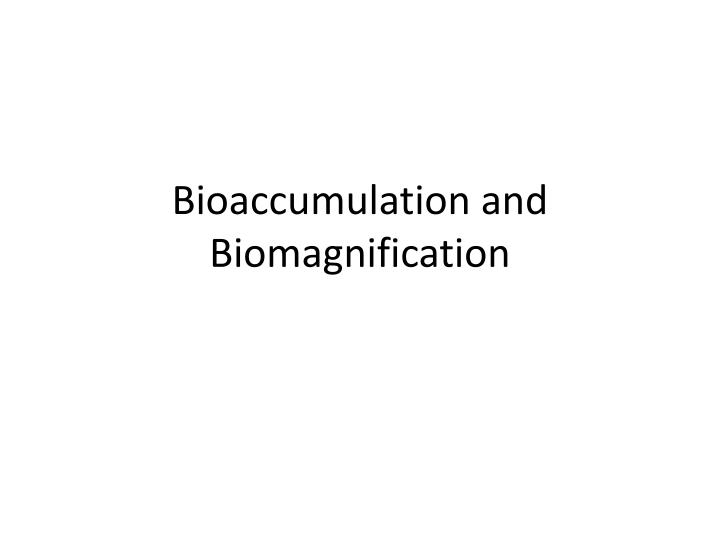 biomagnification lab report essay Shmoop's essay lab walks you step by step through the writing process, including tips and examples for how to write an essay skip to lab report mathematical.
