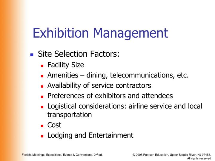 """the location selection factors We've compiled the results into the top 10 most important factors meeting and event planners consider when selecting a meeting location (in descending order of importance): 1) location & accessibility (score: 32) the old adage """"location, location, location"""" still holds true."""