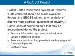 a geoss project