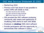 ogc web services shibboleth ie osi