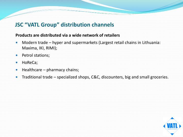 Jsc vatl group distribution channels
