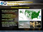 advanced hydrologic prediction service ahps
