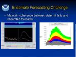 ensemble forecasting challenge2