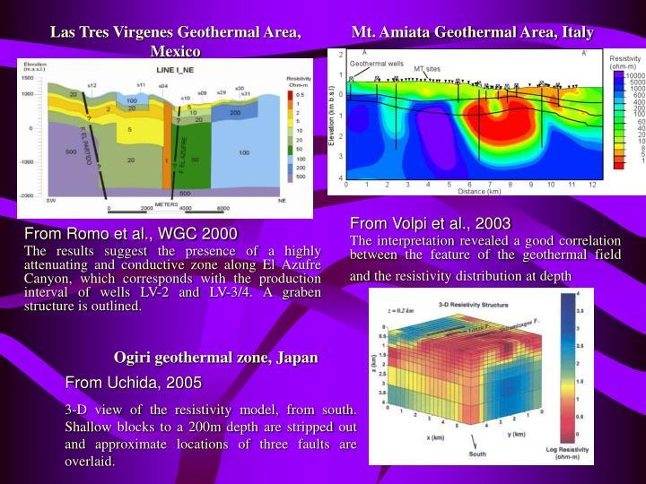 Las Tres Virgenes Geothermal Area, Mexico
