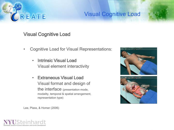 Visual Cognitive Load