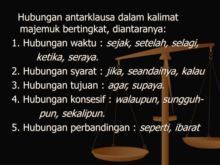 Ppt Kalimat Majemuk Powerpoint Presentation Id 4263472