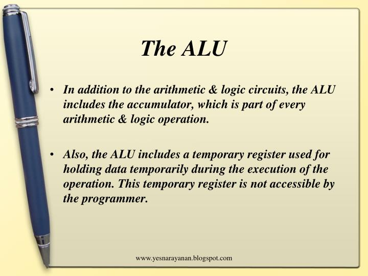 The ALU