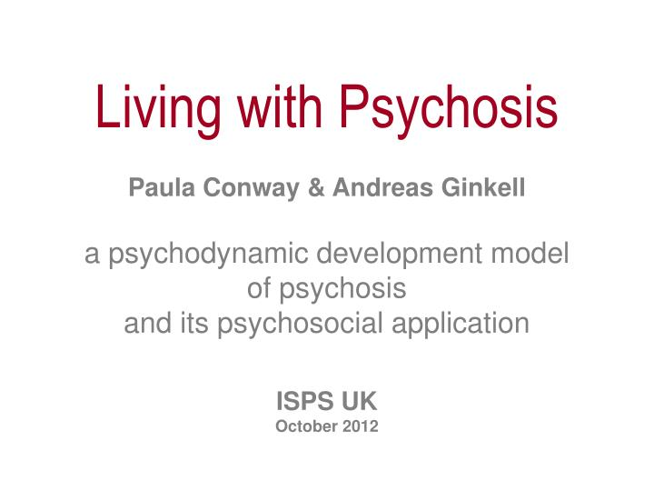 different psychosocial models the psychoanalytic model