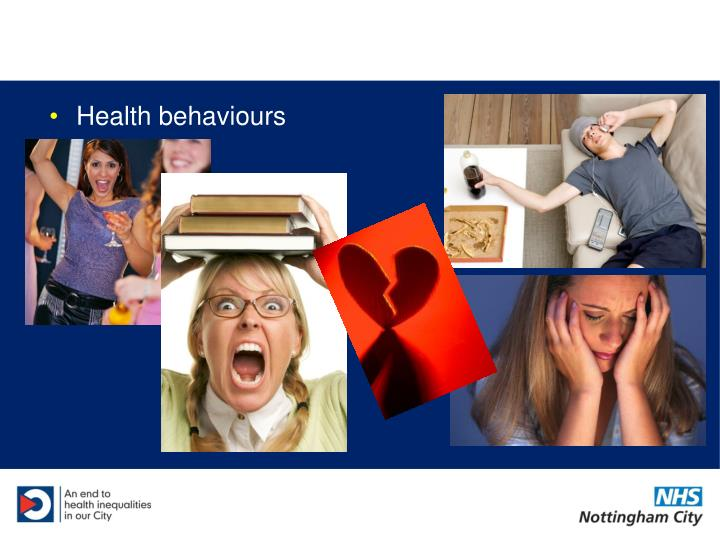Health behaviours