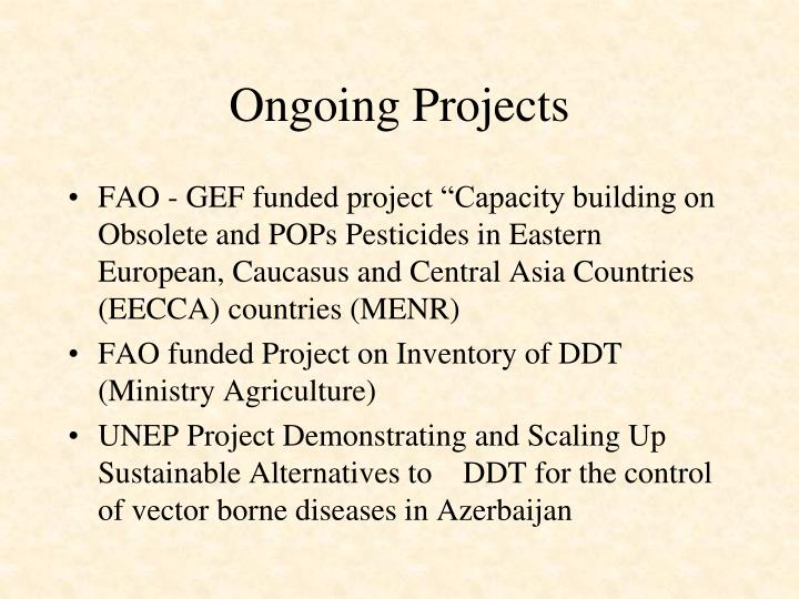 Ongoing Projects