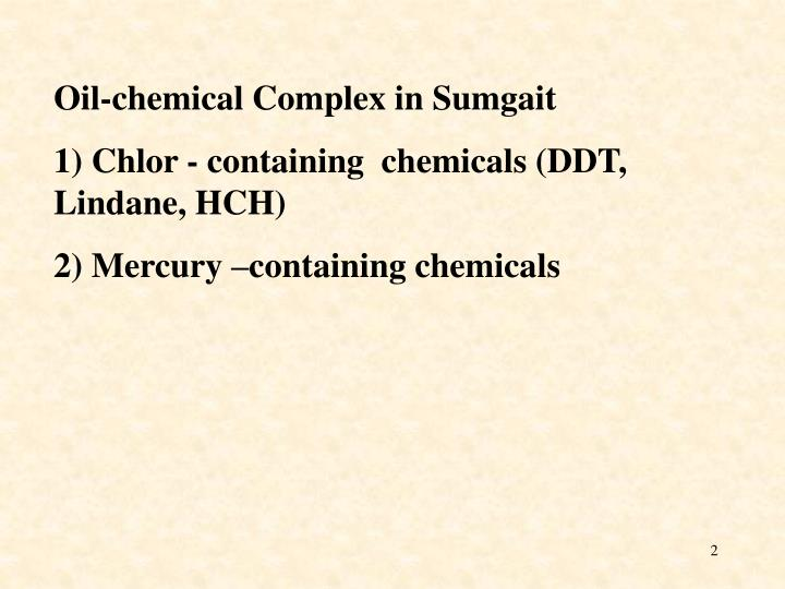 Oil-chemical Complex in Sumgait