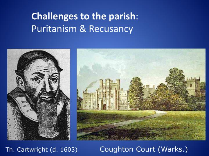 Challenges to the parish
