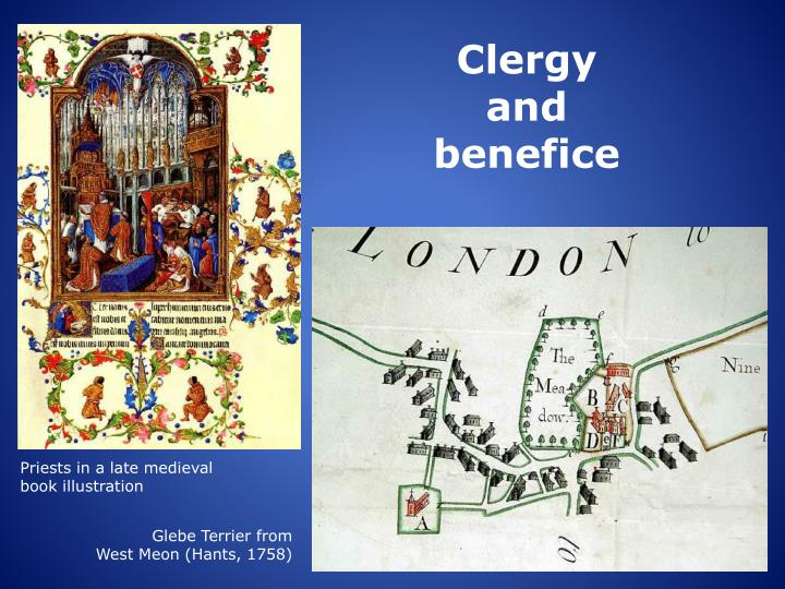 Clergy and benefice