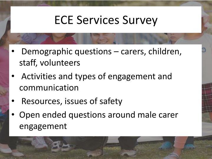 ECE Services Survey