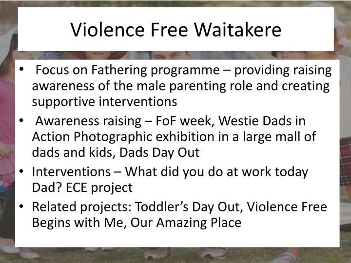 Violence Free Waitakere