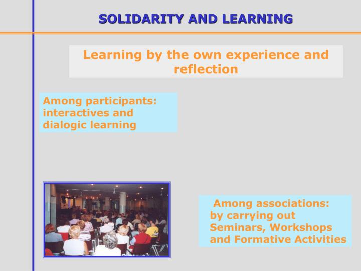 SOLIDARITY AND LEARNING