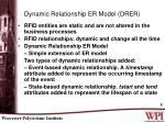 dynamic relationship er model drer