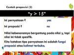contoh proposisi 3
