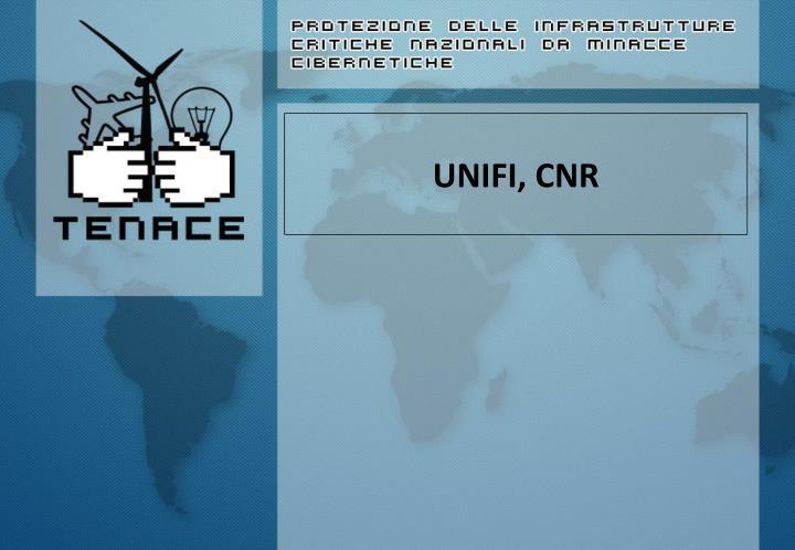 UNIFI, CNR