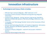 innovation infrastructure