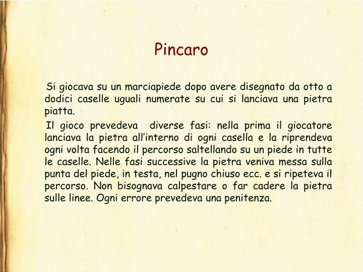 Pincaro