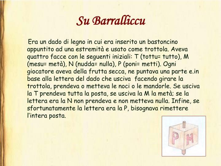 Su Barralliccu