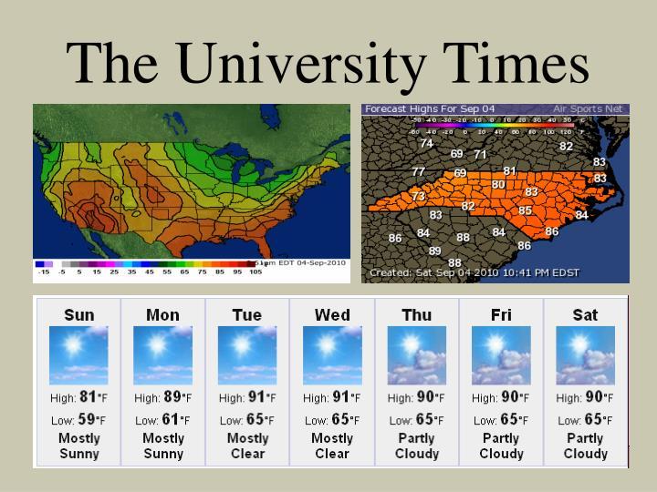The University Times