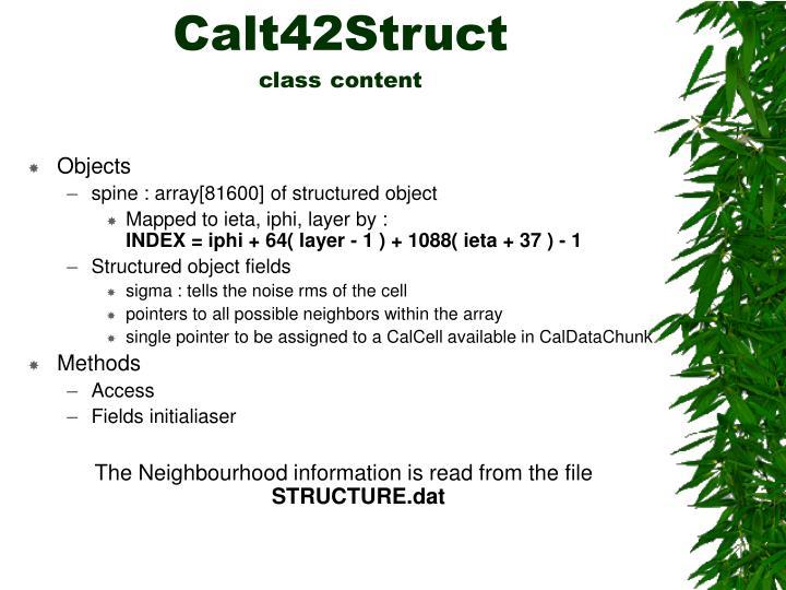 Calt42Struct