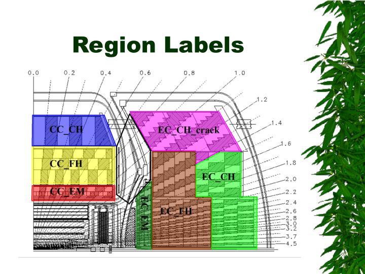 Region Labels