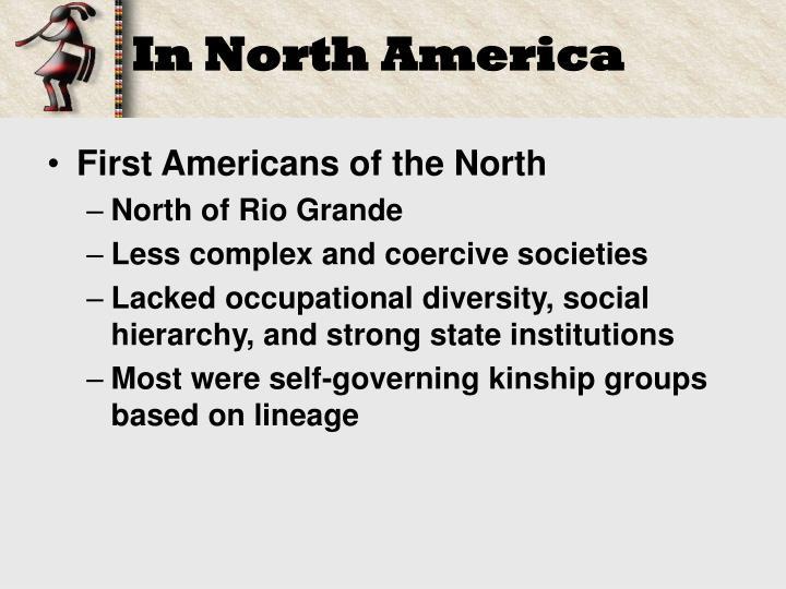 In North America