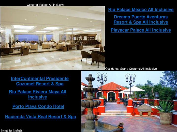 Cozumel Palace All Inclusive