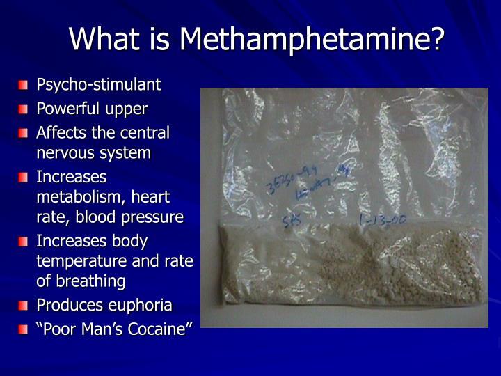 methamphetamines poor mans cocaine essay