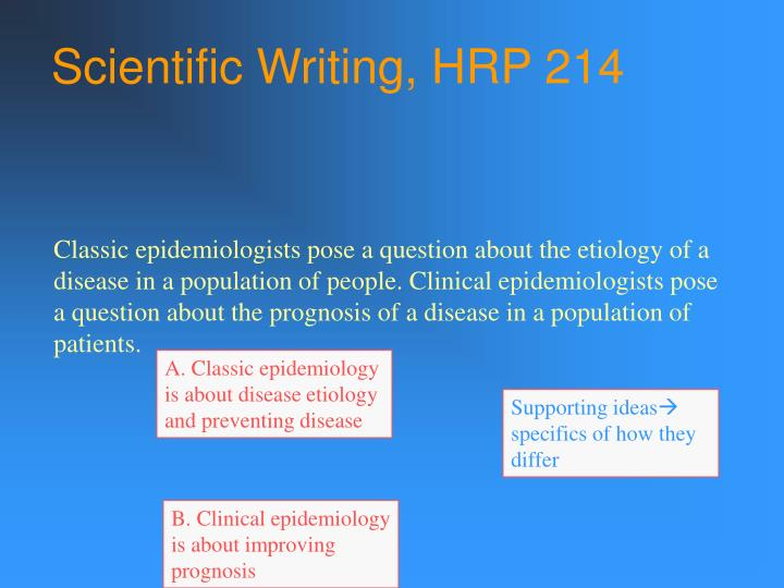 A. Classic epidemiology is about disease etiology and preventing disease